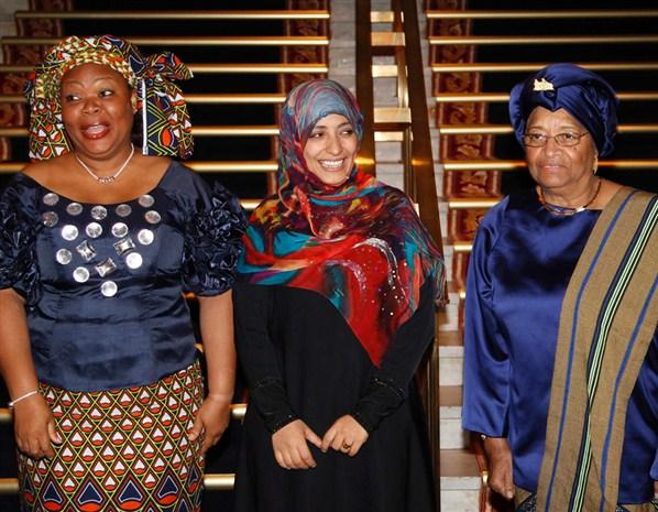 النساء تأثيراً 2012