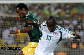 صور مباراة نيجيريا واثيوبيا