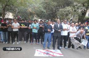مظاهرة الوايت نايتس أمام الزمالك