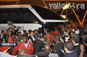 وصول منتخب غانا للقاهرة