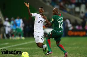 صور مباراة بوركينا فاسو وغانا