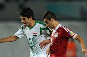 مباراة مصر والعراق