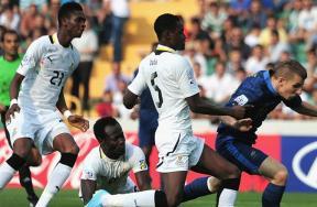مباراة فرنسا وغانا