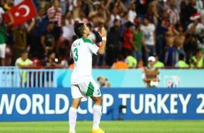 مباراة العراق وأوروجواي