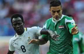 مباراة غانا والعراق