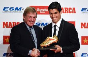لويس سواريز يتوج بالحذاء الذهبي