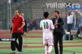فرحة لاعبو مصر بالاهداف فى بوتسوانا