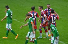 مباراة بايرن ميونيخ وفيردر بريمن