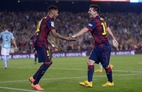 مباراة برشلونة وإيبار