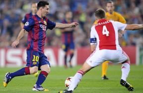 مباراة برشلونة وأياكس امستردام