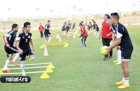 تدريبات المنتخب المصري الأوليمبي