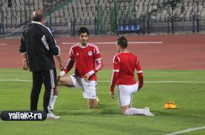 المنتخب المصري يواصل استعداداته للسنغال