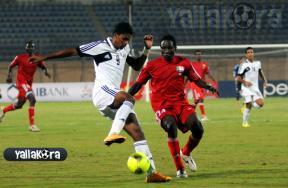 المباراة الودية بين المنتخب الأوليمبى والسودانى