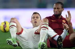 مباراة روما وميلان