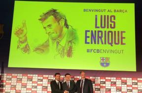 برشلونة يوقع عقد لويس انريكي