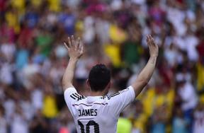ريال مدريد يقدم جيمس روديجيز