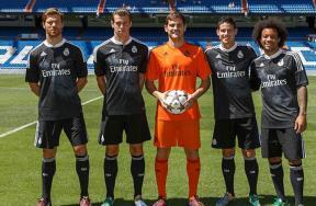 التنيين على قميص ريال مدريد الإحتياطى