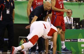 مباراة مصر وصربيا لكرة السلة بكأس العالم