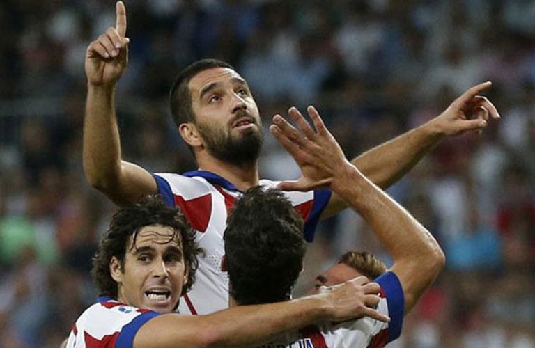 فرحة اردا توران بهدفه فى مرمى ريال مدريد