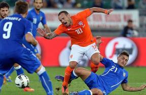 مباراة إيطاليا وهولندا
