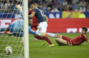 مباراة فرنسا واسبانيا
