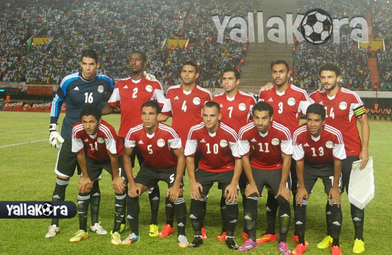 تشكيل البداية لمنتخب مصر
