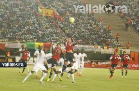 لقاء السنغال ومصر