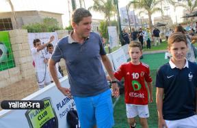 جاريدو وأبنائه فى أكاديمية ريال مدريد