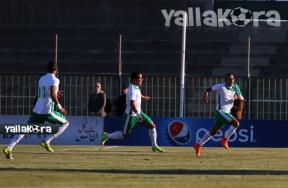 فرحة لاعبو المصري والأهلي