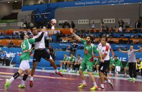 مباراة مصر والجزائر لكرة اليد