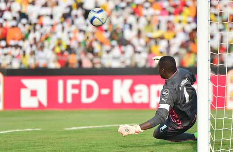 هدف غانا الوحيد فى مرمى السنغال