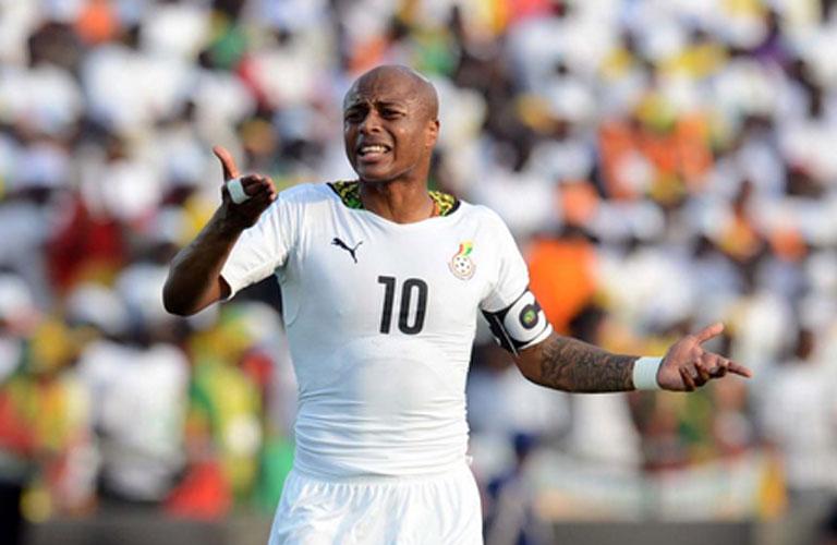 اندري ايو لاعب غانا