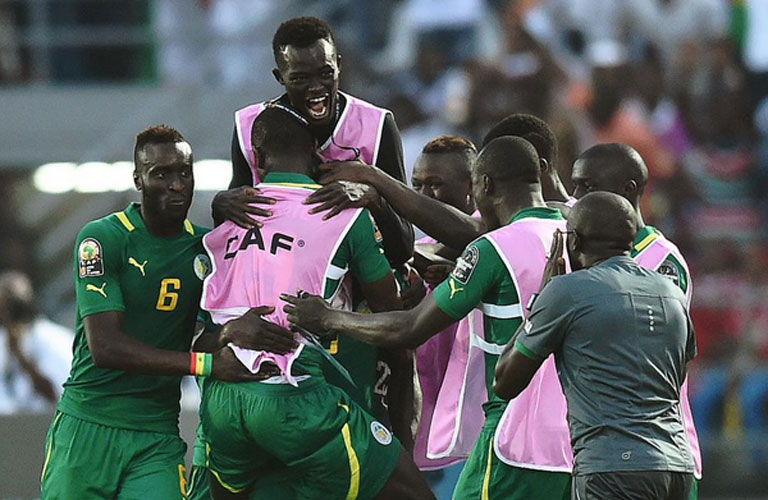 فرحة سنغالية كبيرة بالفوز على غانا