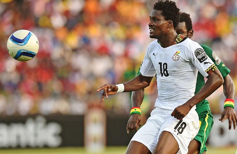 لقطة من مباراة غانا والسنغال