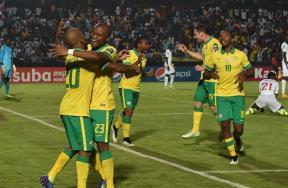 لقاء جنوب أفريقيا والسنغال