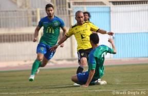 مباراة مصر للمقاصة ووادى دجلة