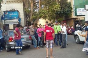 جماهير الأهلي تتظاهر ضد طاهر