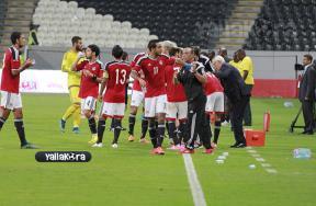 أجواء مباراة مصر وزامبيا