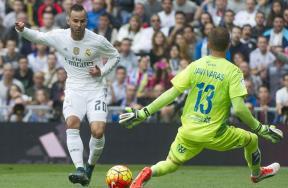 مباراة ريال مدريد ولاس بالماس