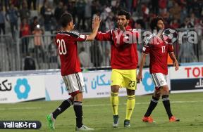 كواليس مباراة مصر وتشاد