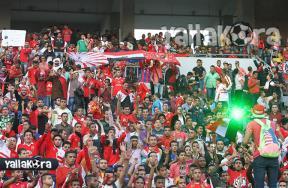 كواليس دخول الجماهير ملعب برج العرب