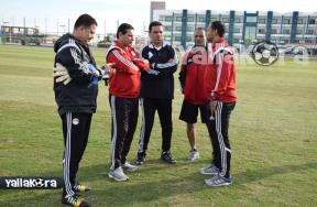 تدريب منتخب مصر الاوليمبي استعداداً للكاميرون