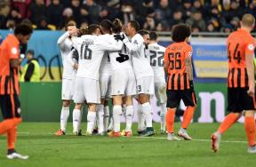 مباراة شاختار وريال مدريد
