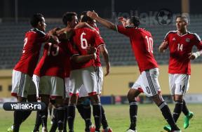 مباراة منتخب مصر الأوليمبى وكينيا