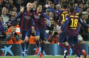 لقاء برشلونة وريال مدريد