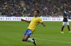 مباراة فرنسا والبرازيل الودية