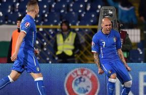مباراة بلغاريا وإيطاليا