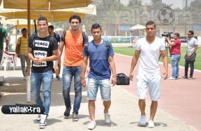 كوبر يزور الأهلي قبل مباراة المغرب التطواني