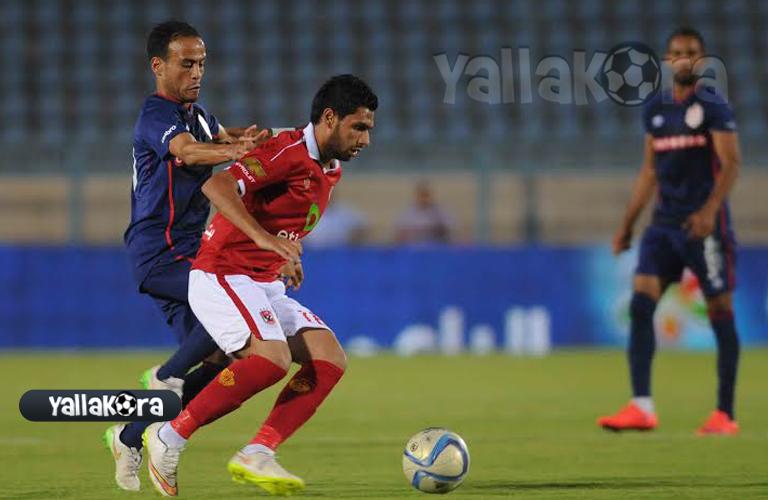 محمد رزق لاعب الاهلي