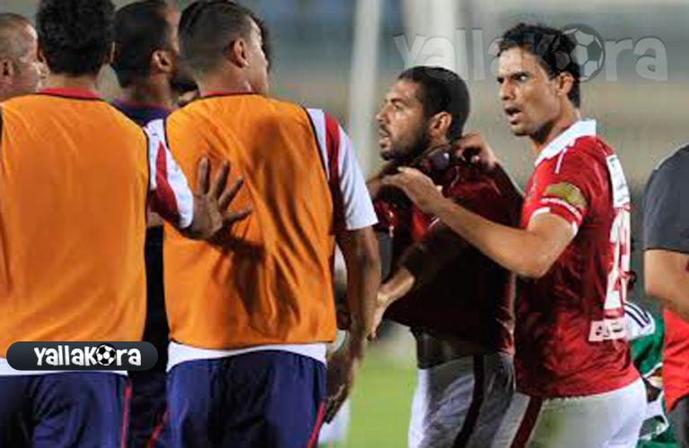 صبري رحيل ومحمد نجيب لاعبا الاهلي
